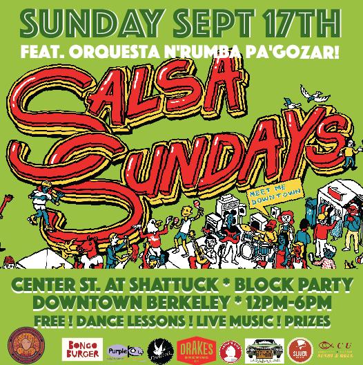 Salsa Sunday 9/17