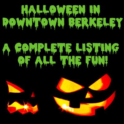 Halloween in Downtown Berkeley