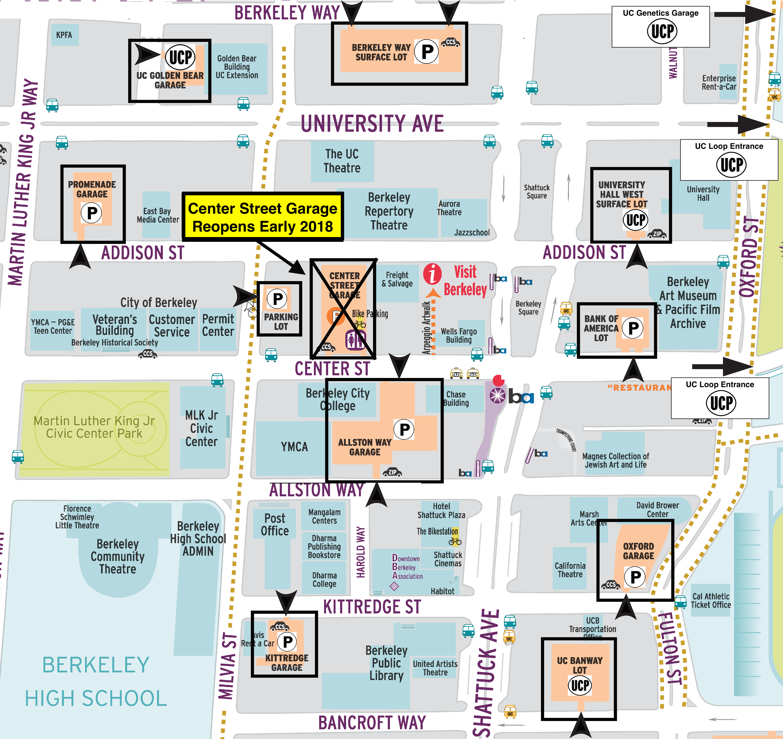 Visit Berkeley | downtown berkeley