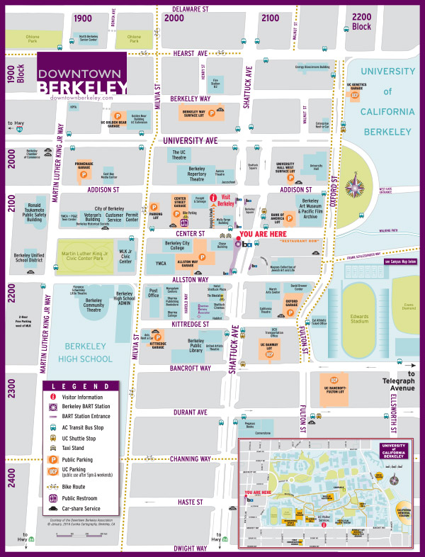 Berkeley PBID Map