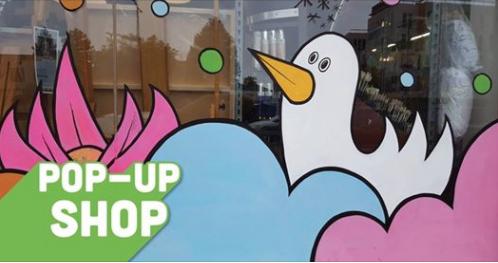 Pop Up Shop At Artist Craftsman Supply Downtown Berkeley