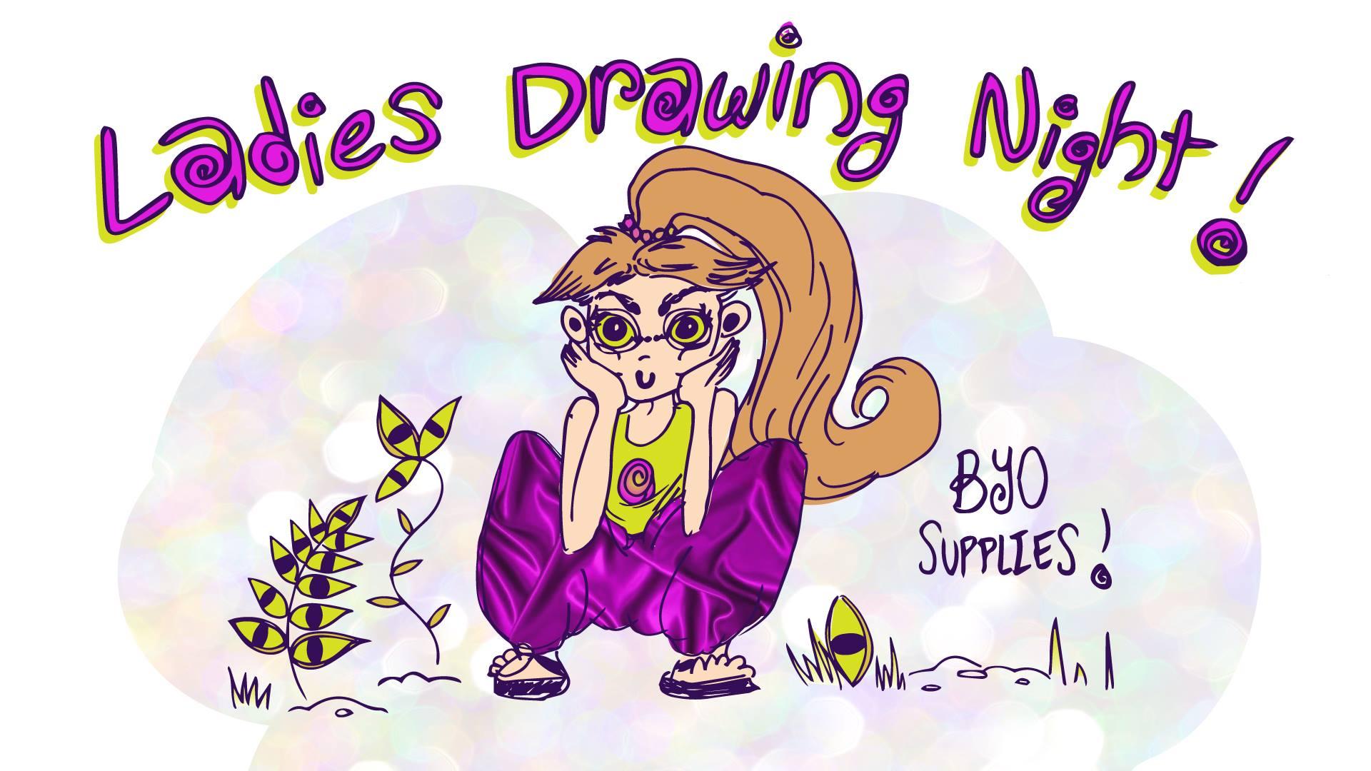 Ladies Drawing Night Downtown Berkeley