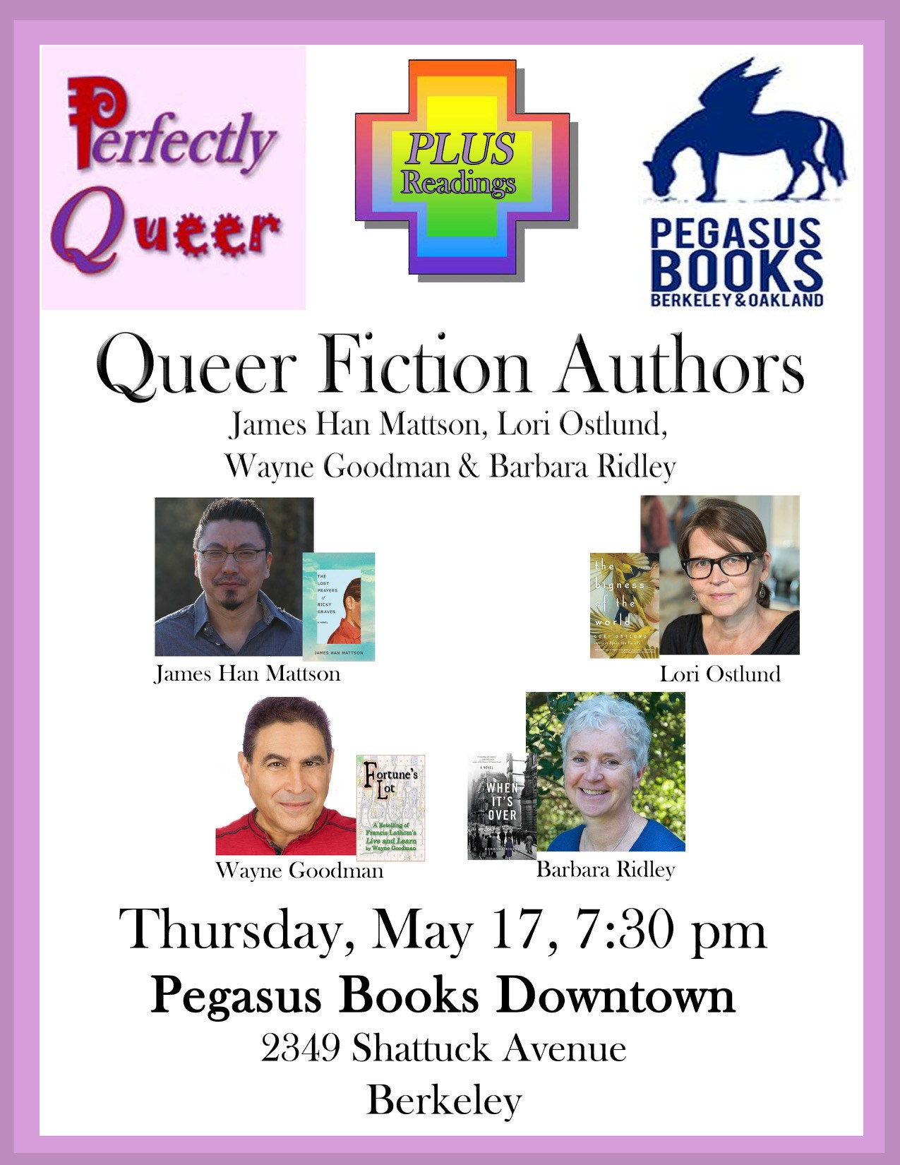 Queer Fiction Authors