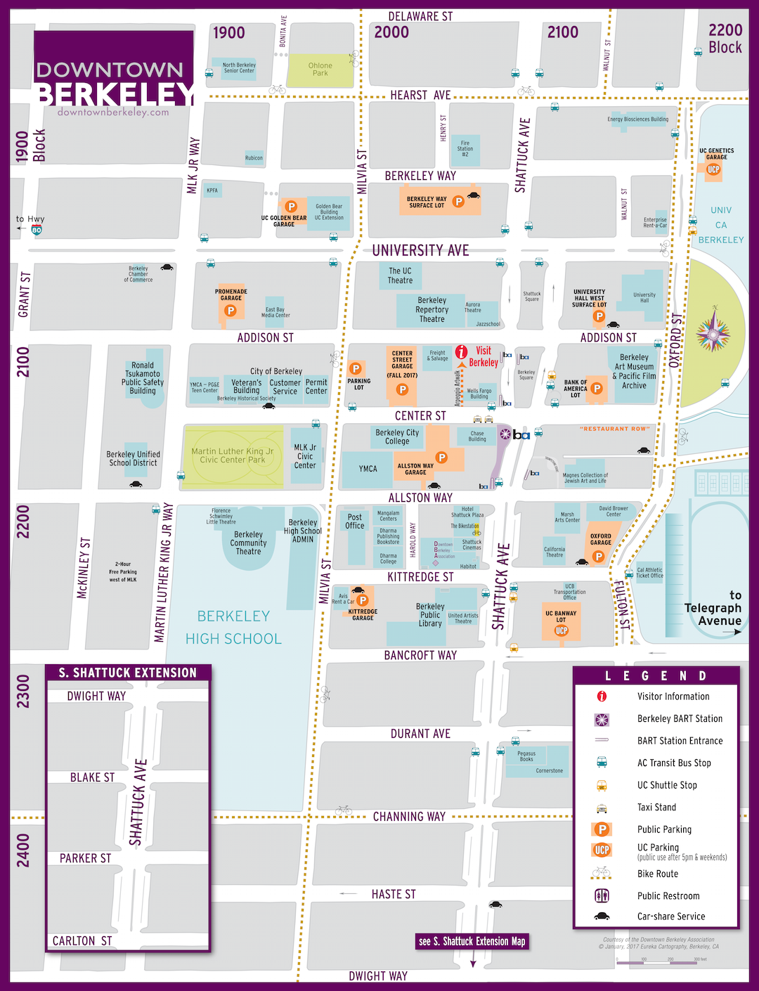 Map Of Berkeley Visit Berkeley | downtown berkeley Map Of Berkeley