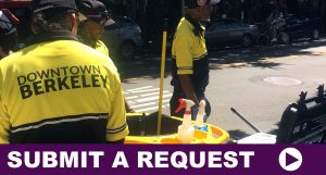 Submit a Downtown Berkeley Service Request