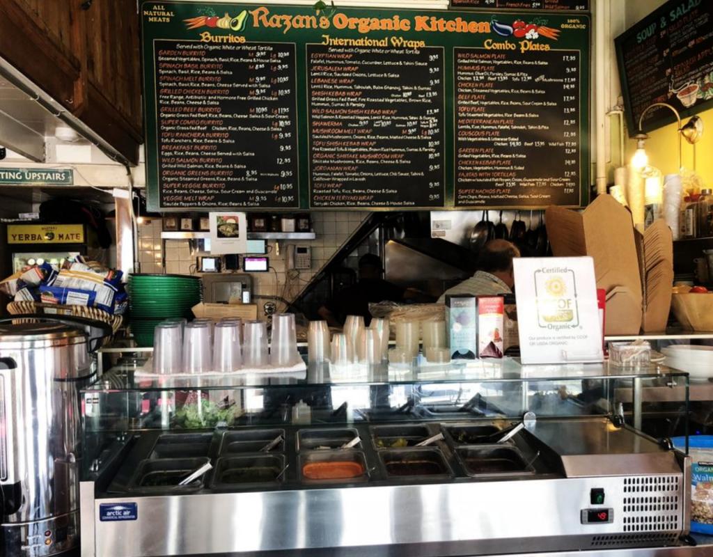 Razan Organic Kitched - Downtown Berkeley Hidden Gems